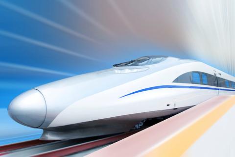 train bullet high speed rail
