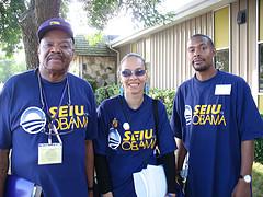 SEIU/Obama photo by aflcio, Flickr