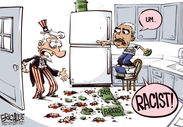 holder racist