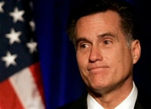 "MittRomneyLookingSad 300x218 Mitt Romney's Iowa ""Win"" was a Defeat"