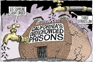 californias overcrowded prisons