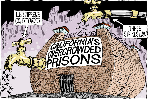 overpopulation in californias prisons When the public hears that a prisoner has been sentenced to serve  california  inmates will be housed in a baldwin prison beginning in 2011.