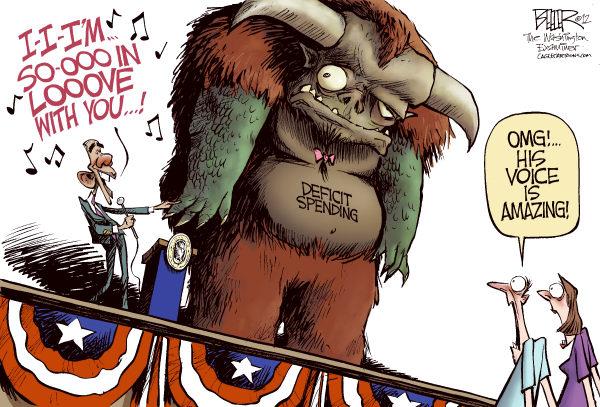 obama s deficit spending california political review