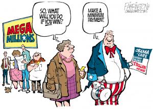 Mega Millions Obamacare