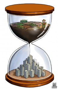 city farm land time
