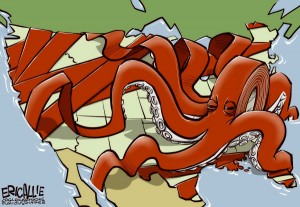 over regulation red tape octopus