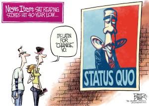 change status quo obama