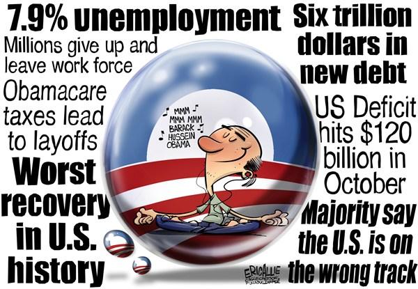 Eric Allie Political Cartoon Obamacare