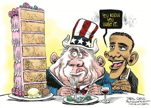 fat uncle sam obama