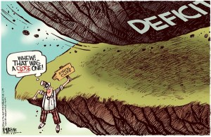 fiscal cliff deficit