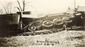 Green Mountain Train Wreck