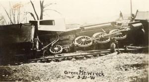 Green Mountain Train Wreck