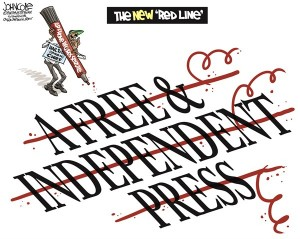 red line free press speech obama AP