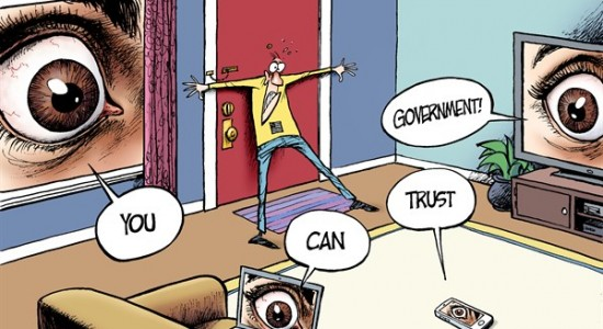 government trust spying