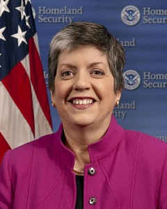 Janet Napolitano Homeland Security Secretary
