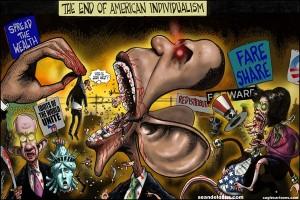 america obama liberalism