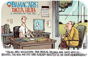 obamacare irs nsa spying