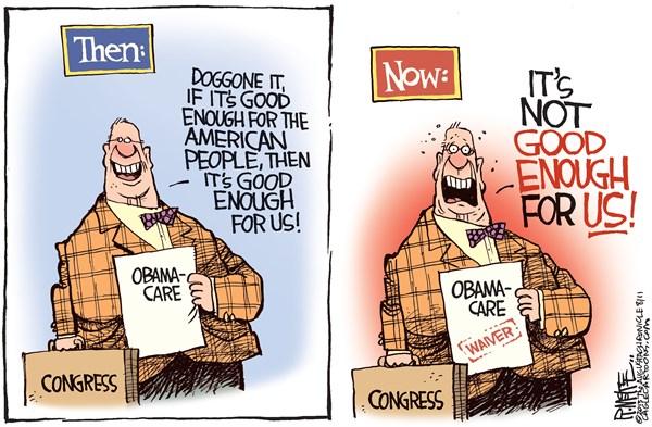 congress obamacare waiver