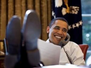 ObamaFeetOnDesk