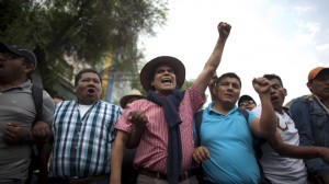 Mexico Teachers Protest