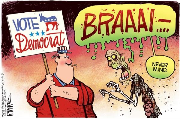 Democrat brains