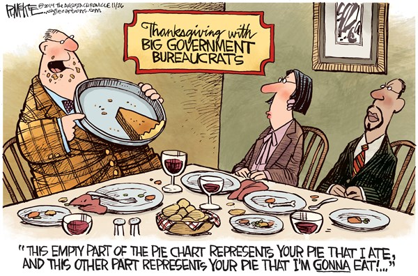 Big Government Thanksgiving