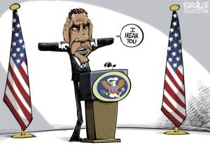 Obama the listener