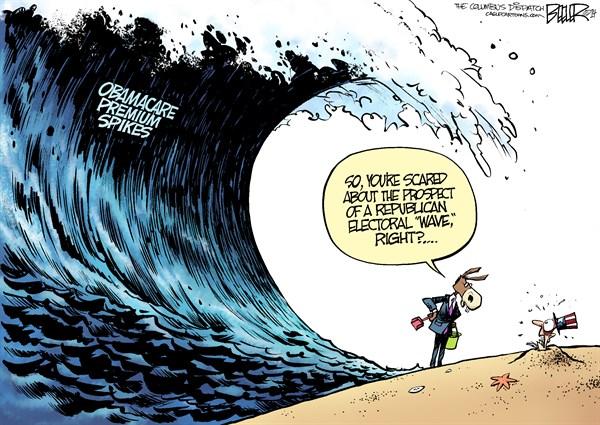Obamacare wave