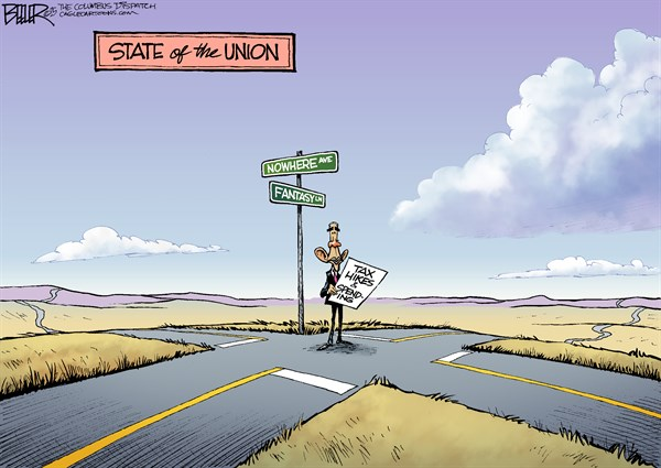 CARTOON: Obama's Crossroads