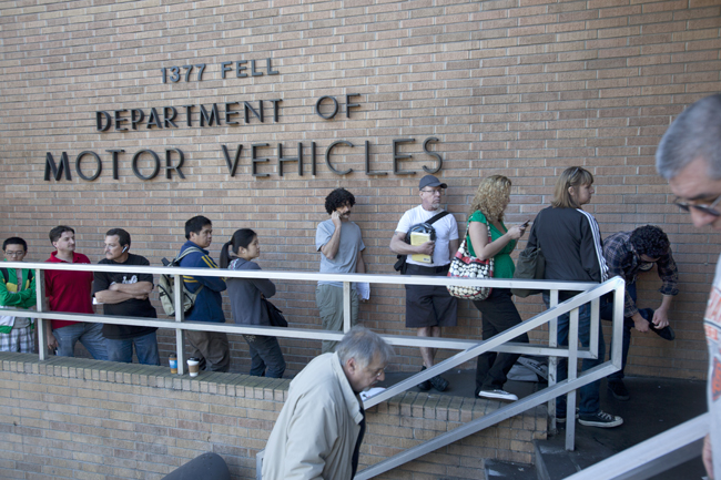 Dmv jammed illegal immigrants to blame california for Ca gov motor vehicles