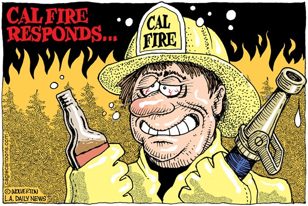 Cal Fire Cartoon