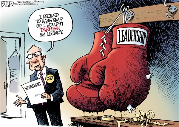 CARTOON: Reid calls it quits