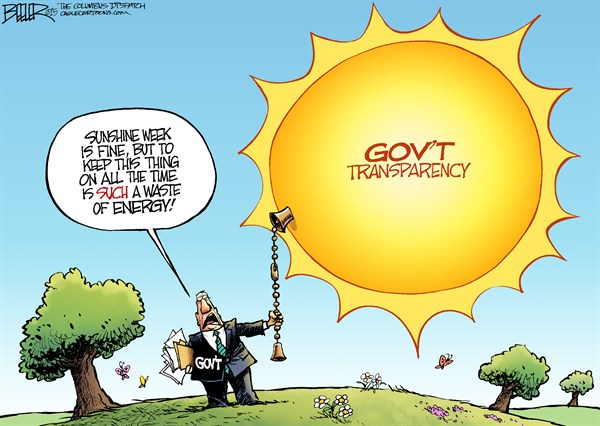 CARTOON: Sunshine Week