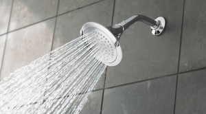 Shower head water drought