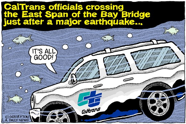 CalTrans cartoon