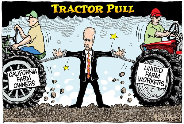 Brown tractor pull cartoon