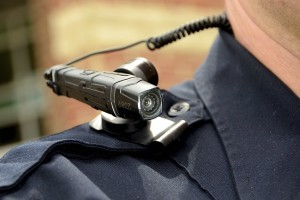 The Fredericksburg, Va. Police Department has introduced the use portable video camera devices worn by all on-duty officers. The Taser Axon Flex is the product in use. (Copyright, Robert A. Martin/Freelance)