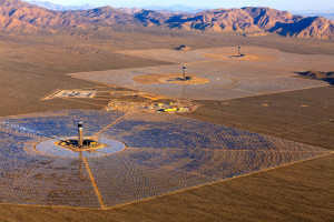 Ivanpah solar energy