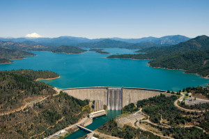 Lake Shasta Water Reservoir