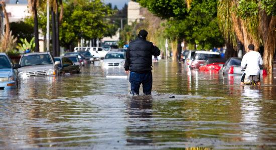 Flooding In Long Beach, California