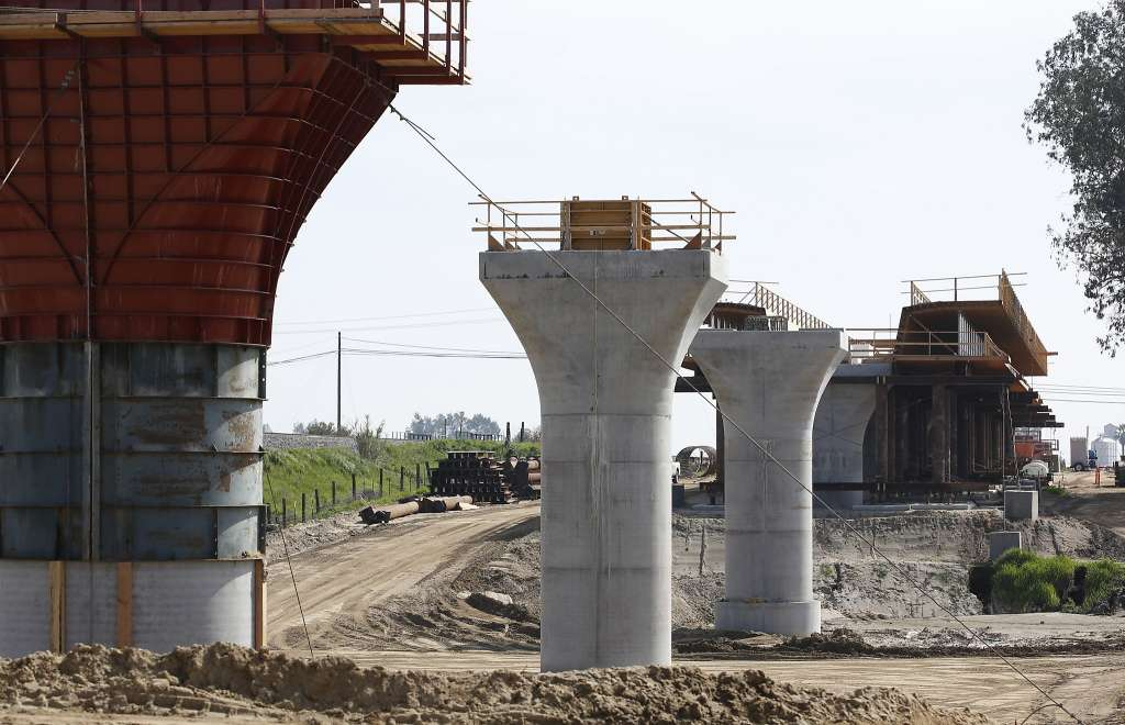 High speed rail construction