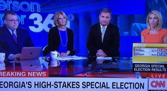 CNN sad faces on Ga election night 5-20-17