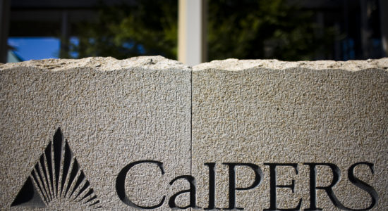 SACRAMENTO, CA - JULY 21:   A sign stands in front of California Public Employees' Retirement System building July 21, 2009 in Sacramento, California. CalPERS, the state's public employees retirement fund, reported a loss of 23.4%, its largest annual loss. (Photo by Max Whittaker/Getty Images)