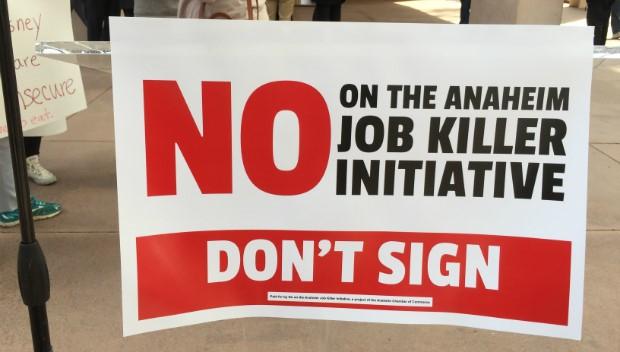 Cal Chamber Annual Job Killers List Down to 5 Bills