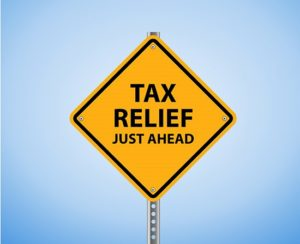 tax relief ahead
