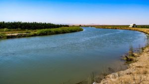 The Tehama-Colusa Canal transports water to irrigate northern California agriculture and communities.