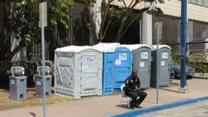 homeless toilets