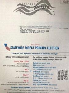 phony leslie ross ballot