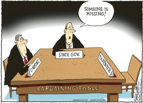 public employee union pension