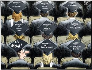 graduation college debt